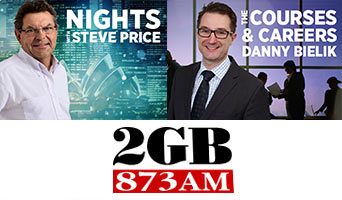 @nicholas_wyman talks #relevant education and #apprenticeship with @StevePriceMedia on #2GB