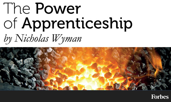 'The Power of Modern Apprenticeship' – Forbes, Level Up Webinar