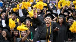 'Does a College Education Help All People Equally?' – Learning English, Online