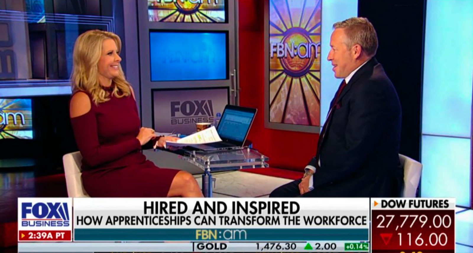 'Workers ditch college, pick up skills through apprenticeships' – Fox Business